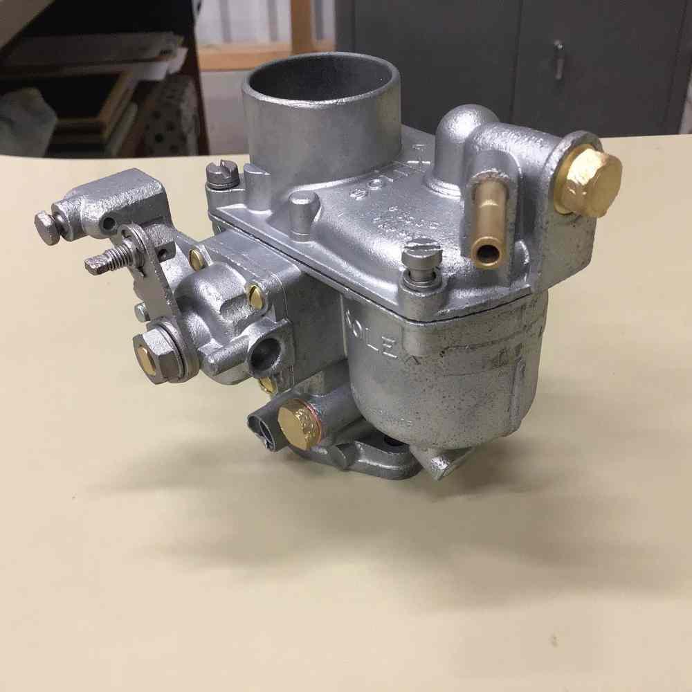 Carburateur après microbillage par aérogommage