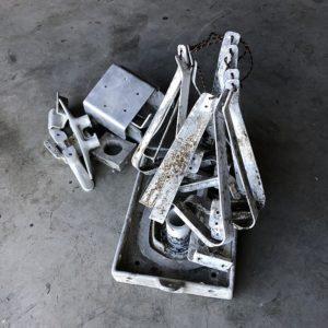 Photos décapage sur métal Morbihan La Trinité Surzur
