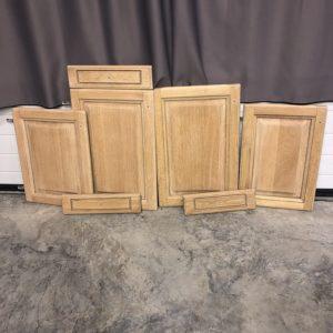 Préparation de surface bois par aérogommage
