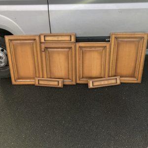 Photos décapage sur bois par aérogommage - Morbihan